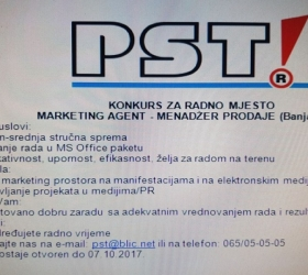 PST! - Traži marketing agenta